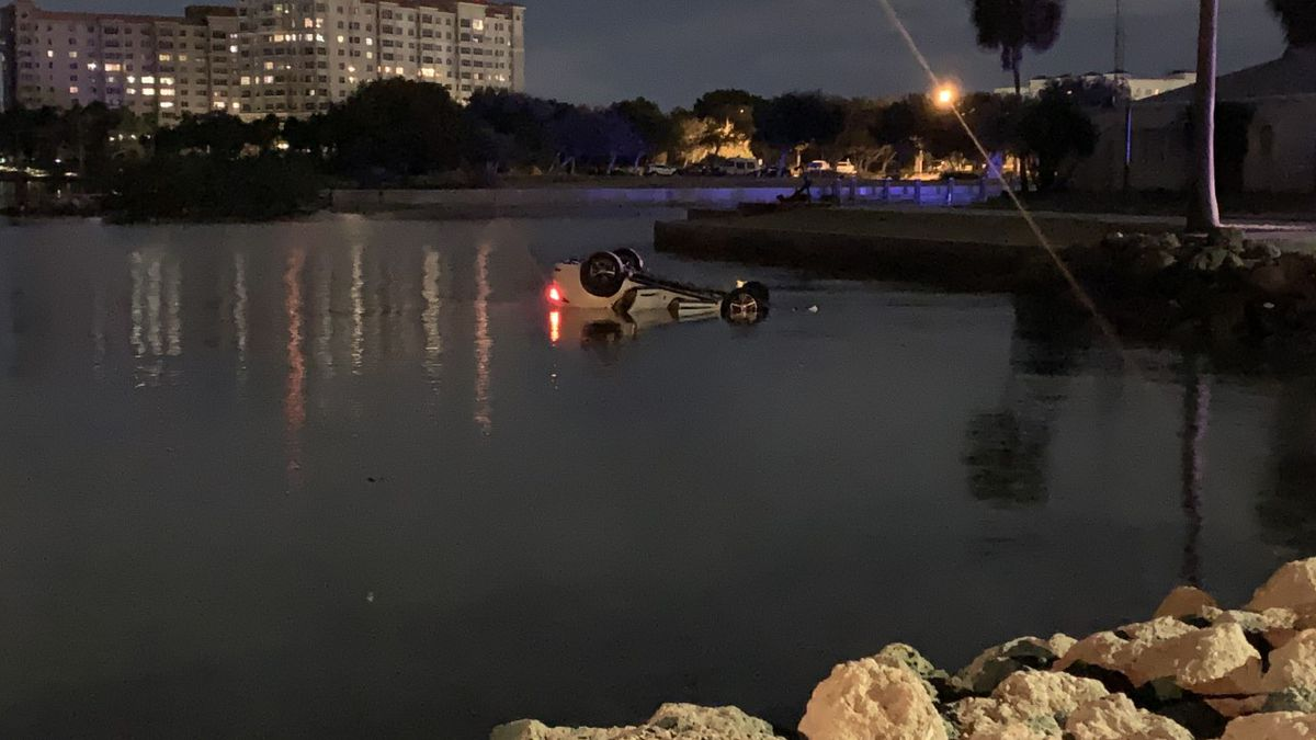 Sarasota officers talk about rescue on the Sarasota Bay in December