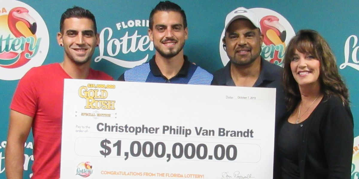 27-year-old Sarasota man wins $1 million on scratch-off ticket
