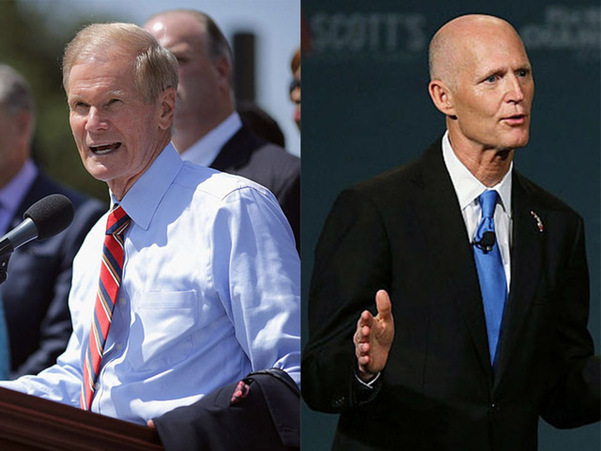 The Latest: Scott leads Nelson as Florida finishes recount