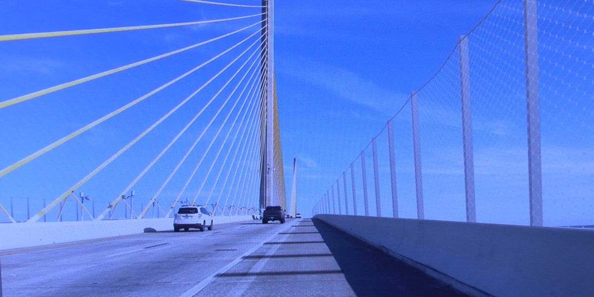 Metal netting to be installed on the Sunshine Skyway Bridge to help with suicide prevention