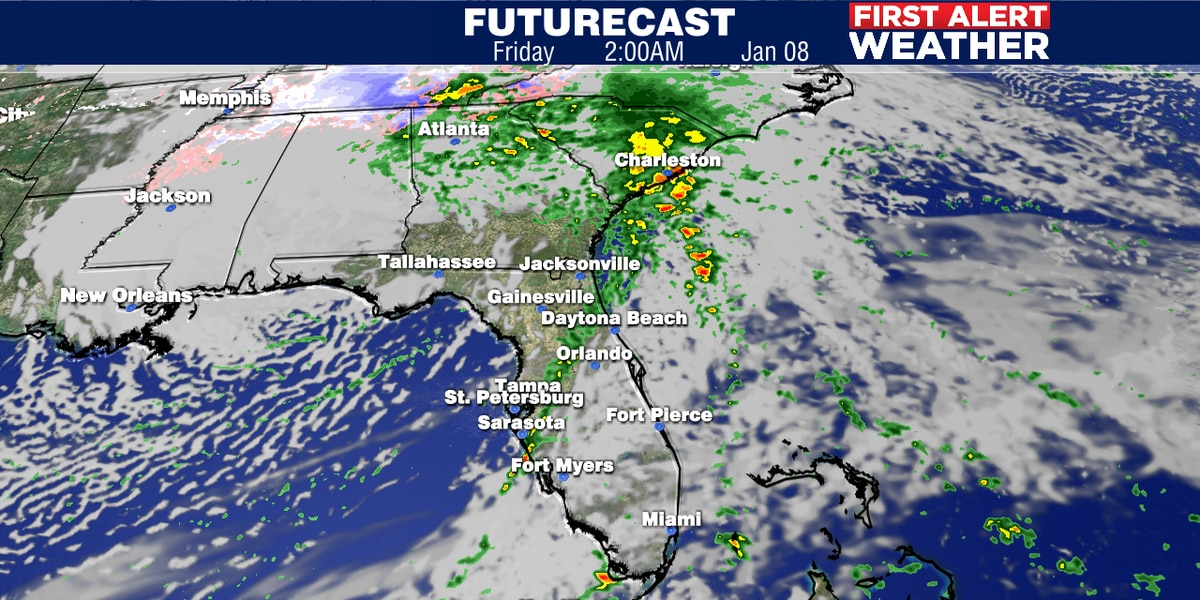 Cold front coming soon to the Suncoast