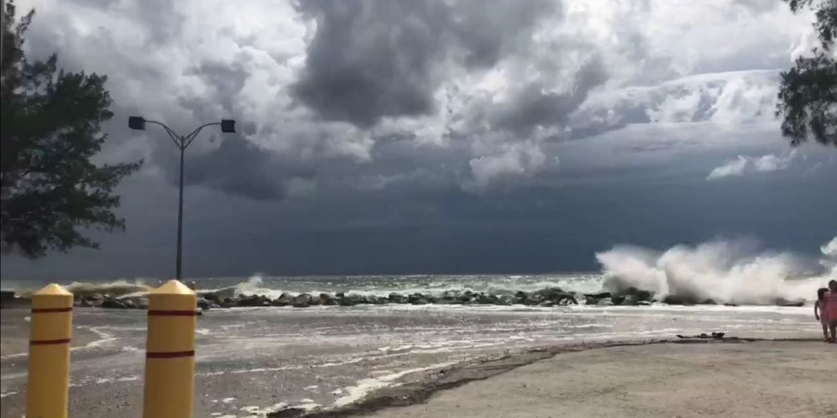 South Jetty in Venice re-opens after floodwaters, waves recede