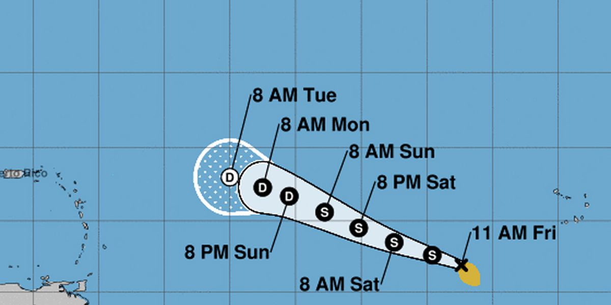 Tropical Storm Wilfred forms, using last Atlantic storm name in record time