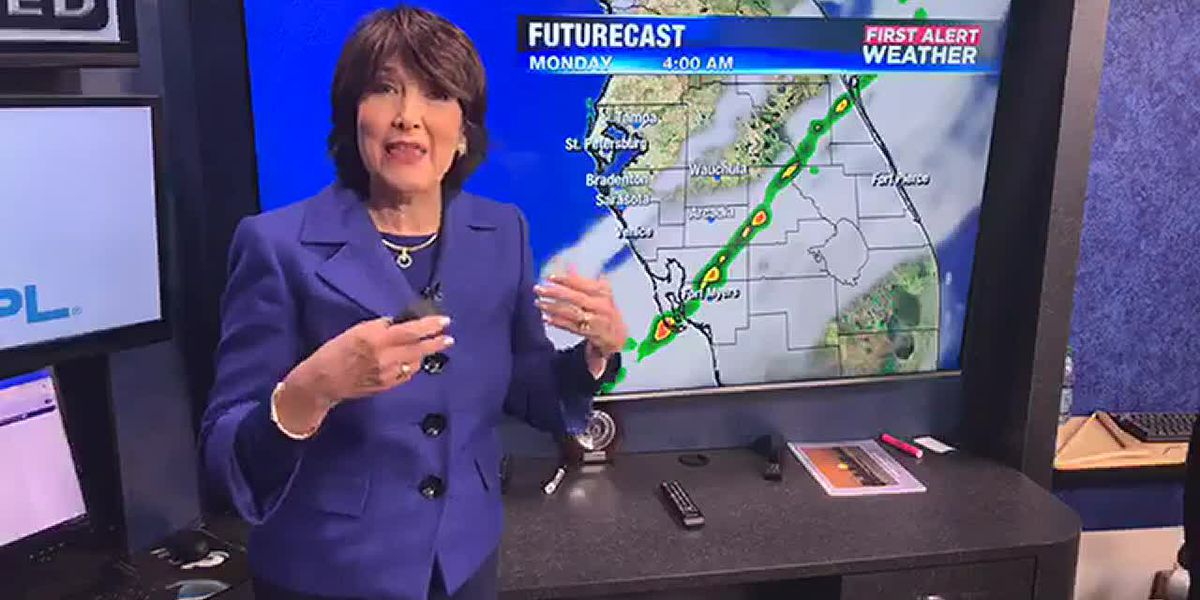 Cold front on Sunday, but beautiful week ahead on the Suncoast