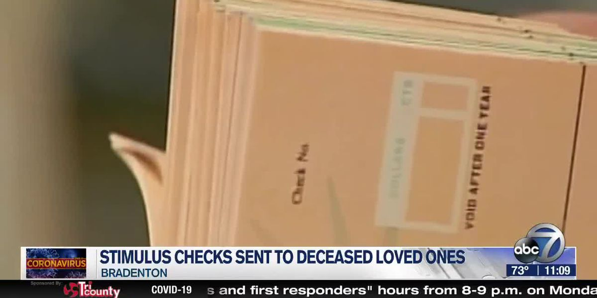 Bradenton man says IRS sent his deceased roommate a stimulus check