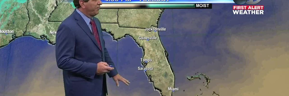 WWSB First Alert Weather 4p.m. Tuesday 2/19/2019