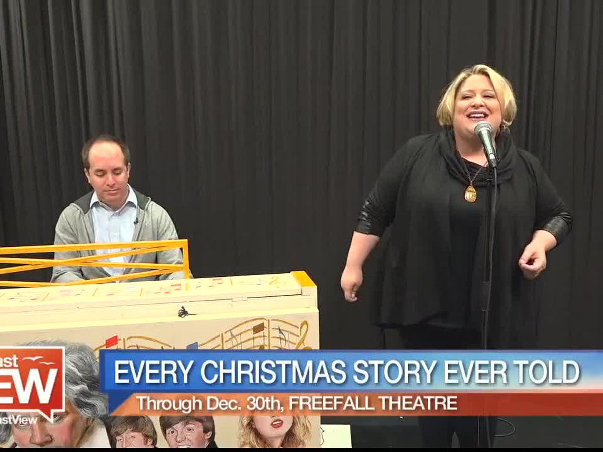 """freeFall Theatre Previews """"Every Christmas Story Ever Told!"""" 