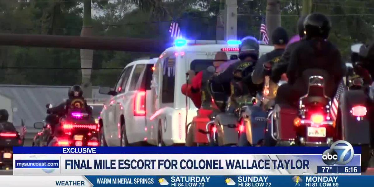 Final Mile Escort for Colonel Wallace Taylor