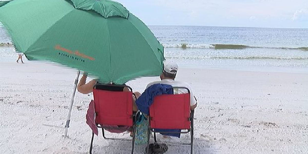 Tropical Storm Gordon helps push effects of red tide offshore