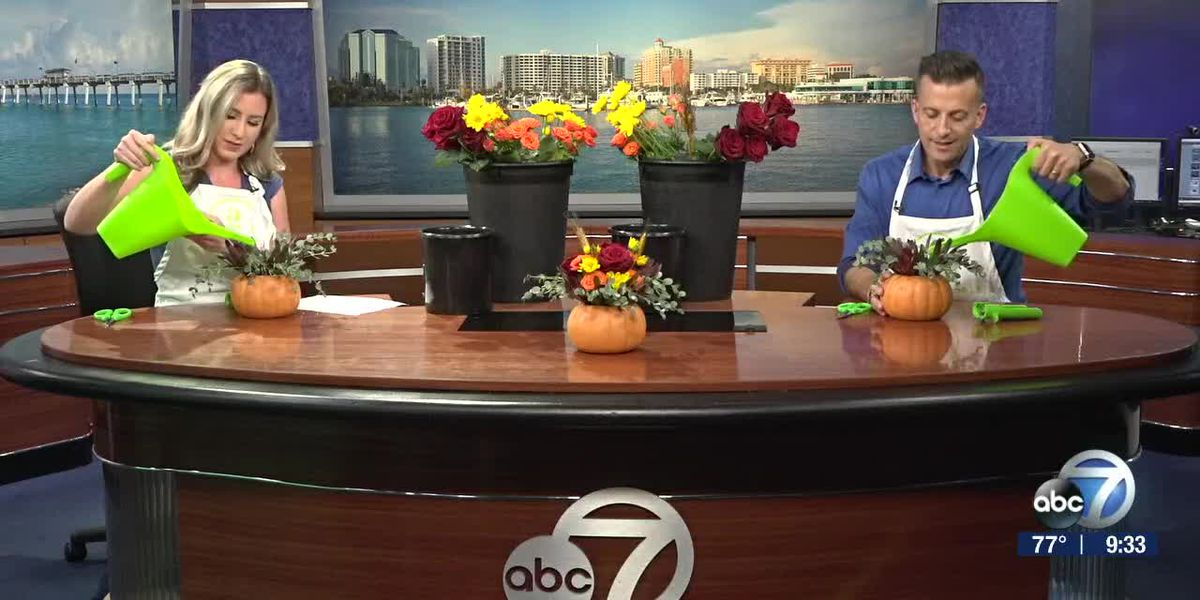 Creating Floral Arrangements for Fall | Suncoast View