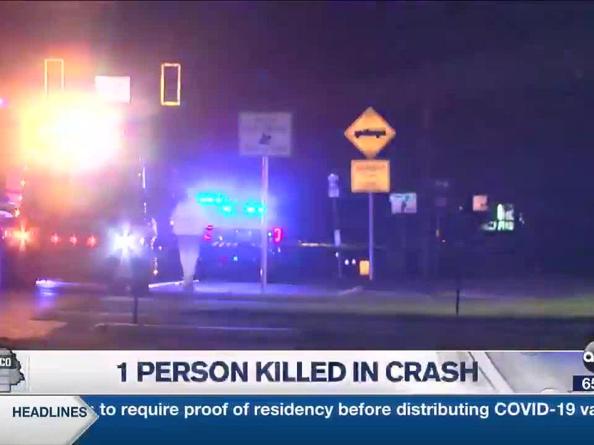 1 person killed in crash in Sarasota County