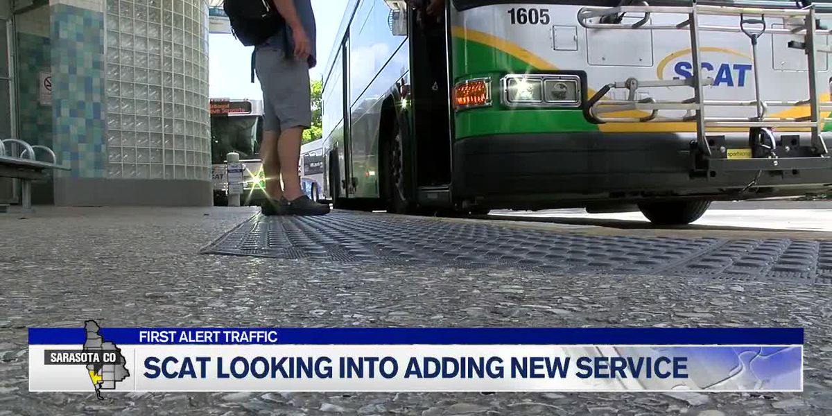 Door-to-Door Service May Replace SCAT Buses in South Sarasota County
