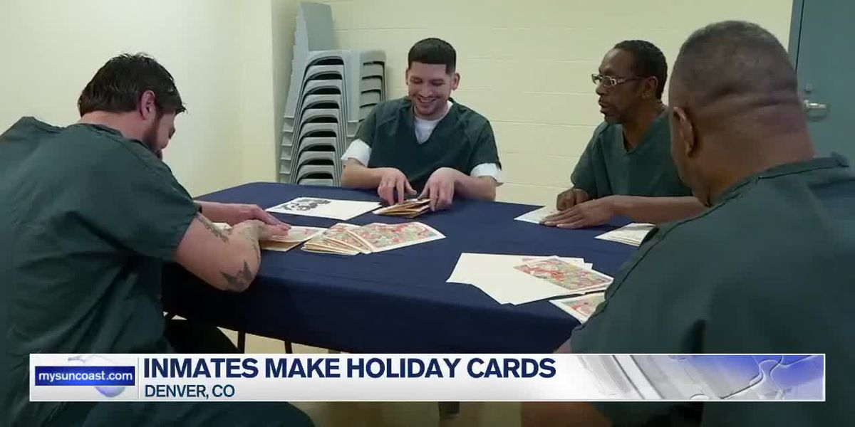 Inmates Make Holiday Cards