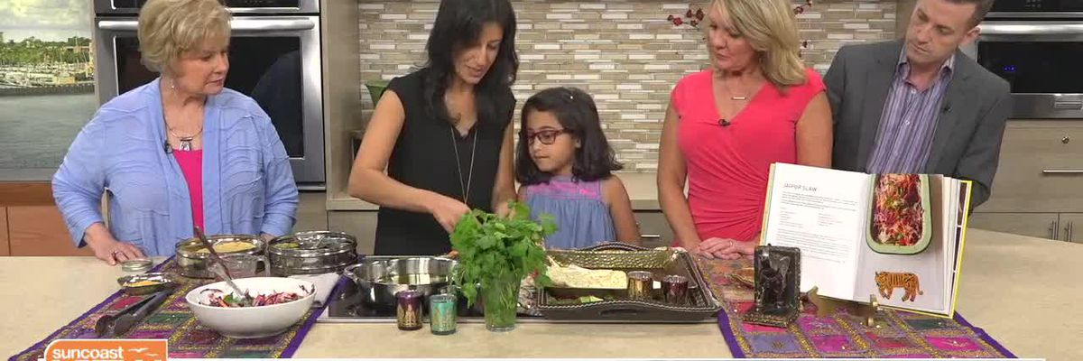 Deepa from the Indian Table Shows How to Make Jaipur Slaw with Crisp Lentil Papaddum   Suncoast View