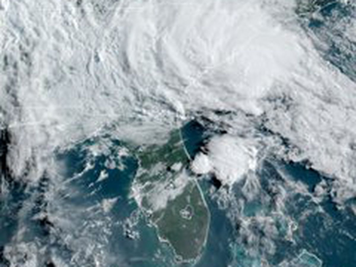 Tropical Storm Bertha makes landfall in South Carolina