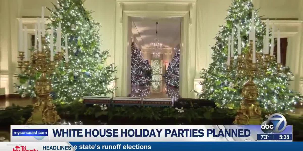 White House Parties Planned