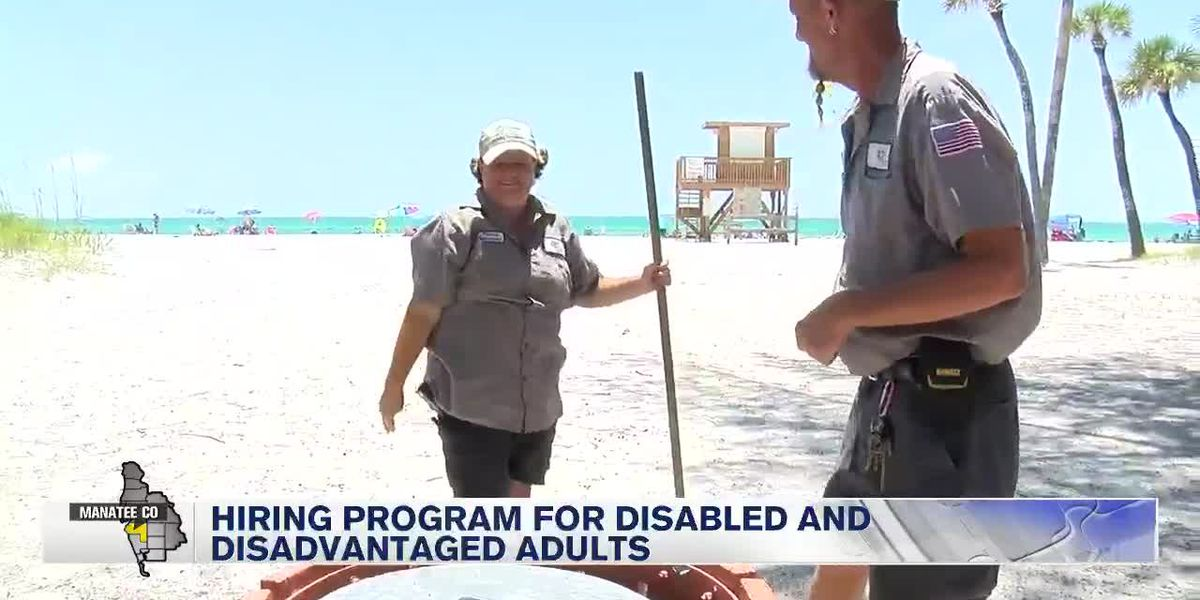 Hiring program for disabled and disadvantaged adults in Manatee County