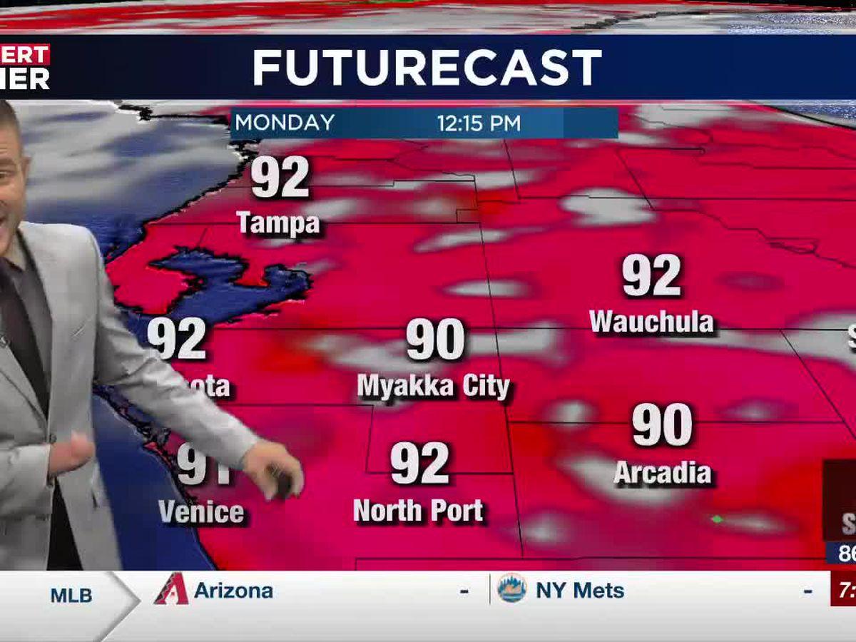 Humid weather will soon return