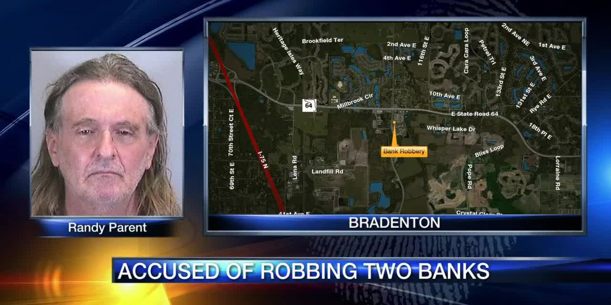 Alleged bank robber leads police on chase on I-75