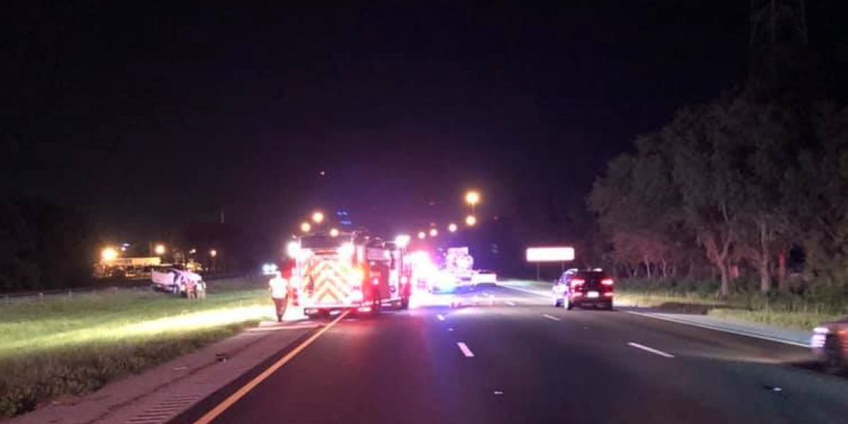 Loss of tire pressure leads to fatal crash on I-75 North