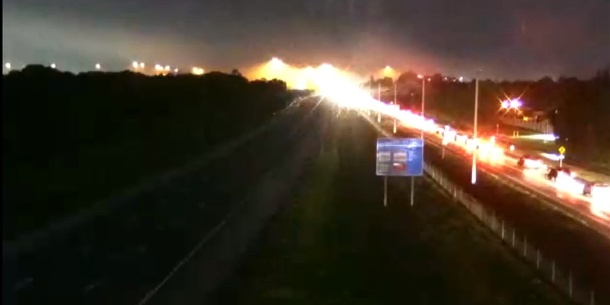 FIRST ALERT TRAFFIC: I-75 now re-opened after Brush Fire shuts down roadway