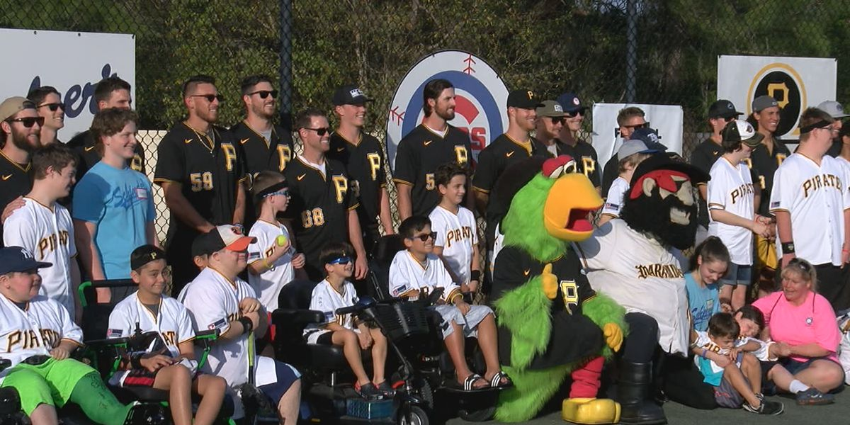 Pittsburgh Pirates hold Fantasy Camp for Miracle League of Manasota players