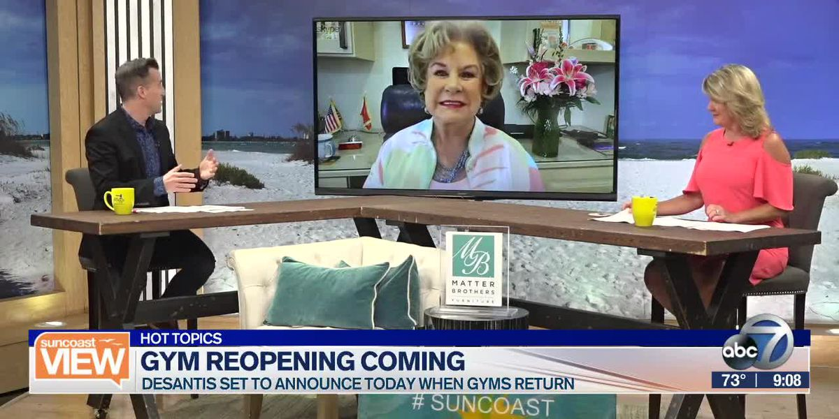 HOT TOPICS: Gyms Reopening, Grocery Prices Spike & Gowns for Good | Suncoast View