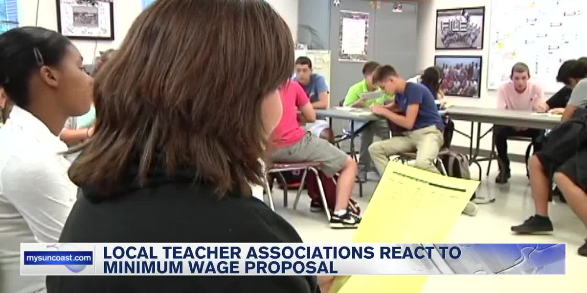 Local teacher associations weigh in on DeSantis proposal to raise minimum salary for teachers