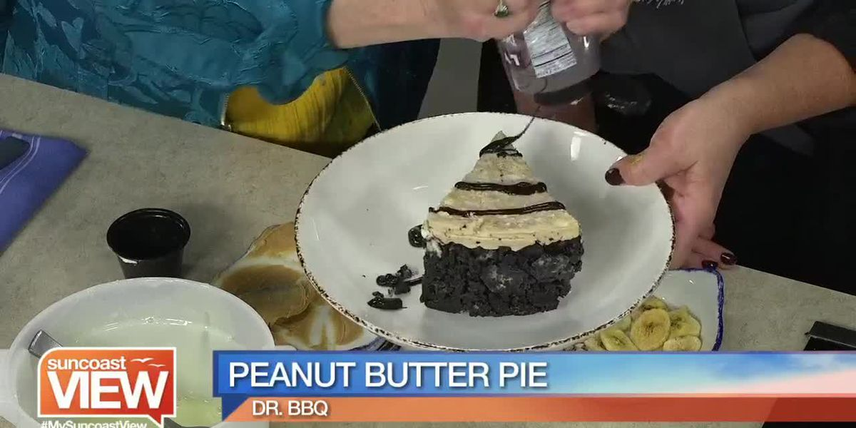 See How Dr. BBQ Makes its Amazing Peanut Butter Pie! | Suncoast View