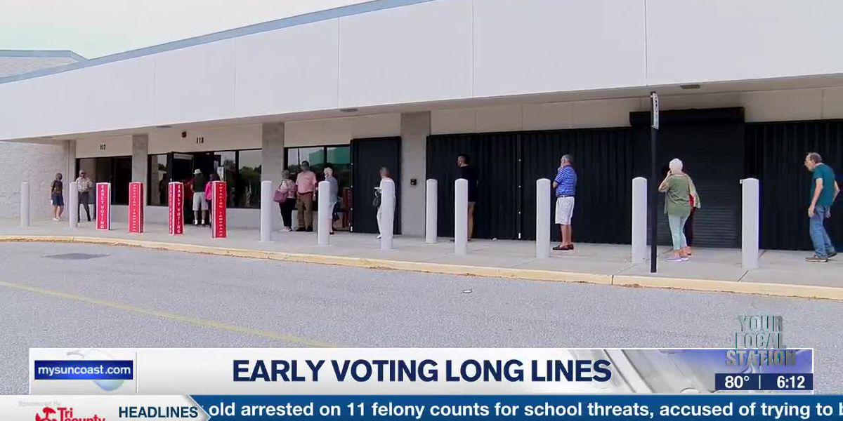 Early Voting Long Lines