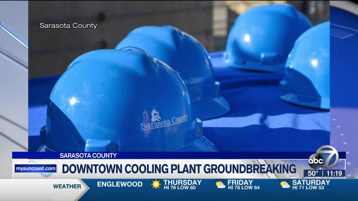 Downtown Cooling Plant Groundbreaking