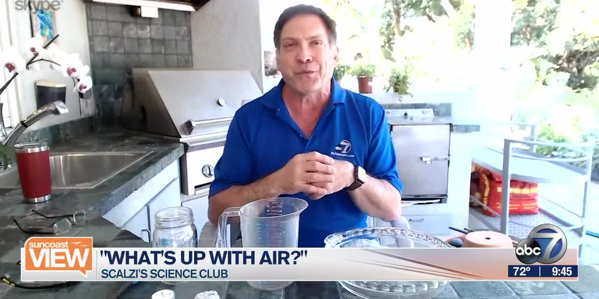 "Scalzi's Science Club: ""What's Up With Air?"" Part 1 