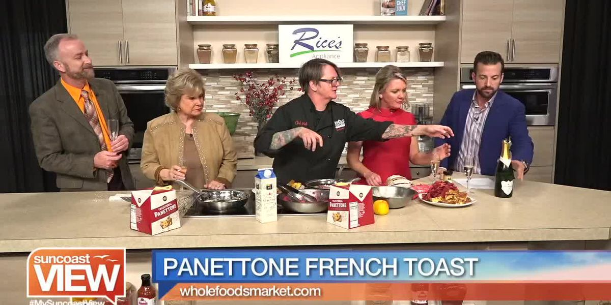 Panettone French Toast from Whole Foods Market | Suncoast View