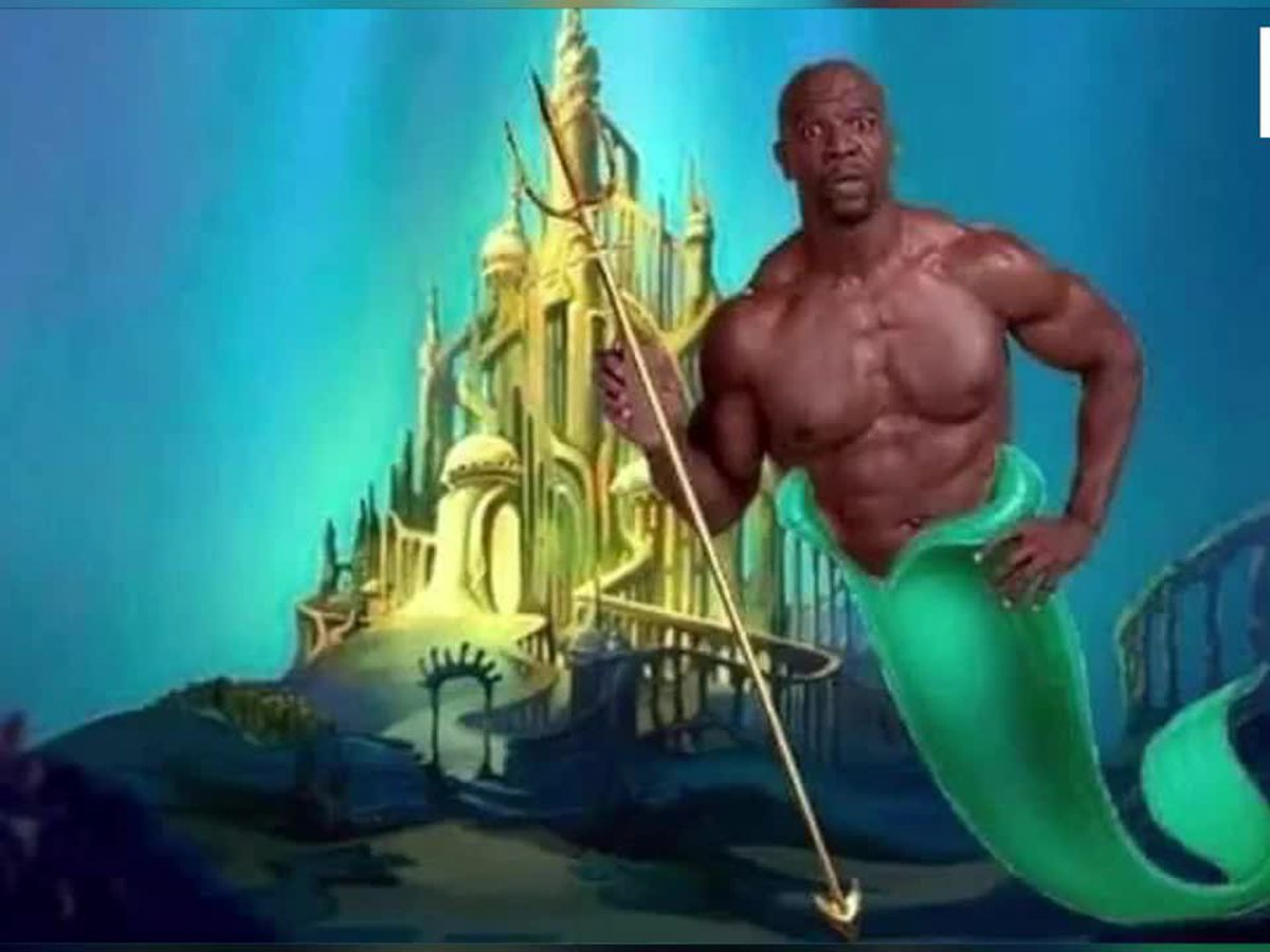 "Terry Crews looking to be cast as King Triton in live action ""Little Mermaid"""