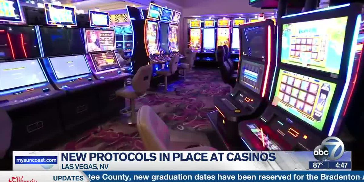 New Protocols in Place at Las Vegas Casinos