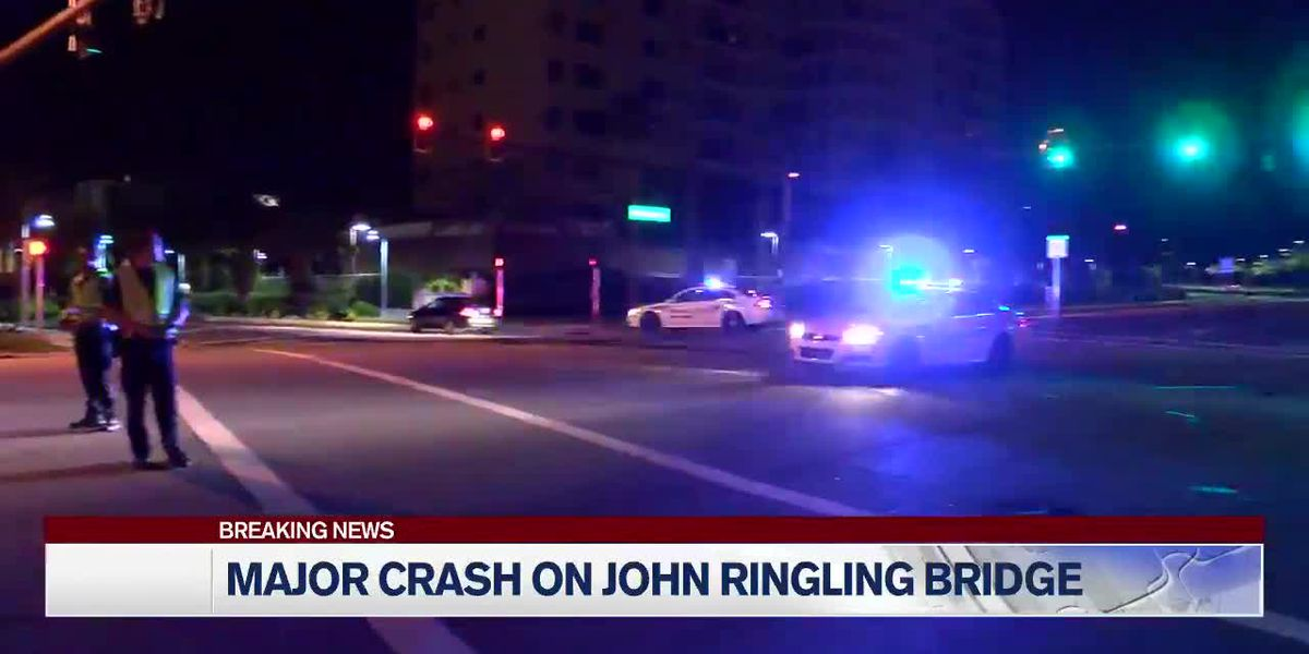 Three dead after accident that closed John Ringling Causeway Bridge overnight