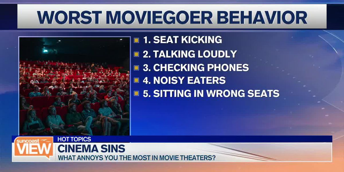 Our Least-Favorite Theater Habits, Plus Are Drive-Thrus Getting Slower? | Suncoast View