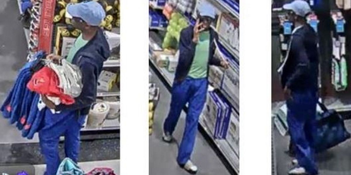 Police searching for man who stole multiple items from a North Port Dicks Sporting Goods store