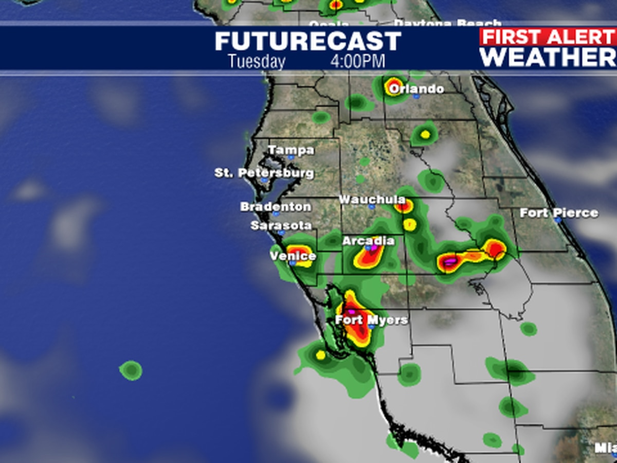 Barry no longer a tropical system and we get back to basics along the Suncoast