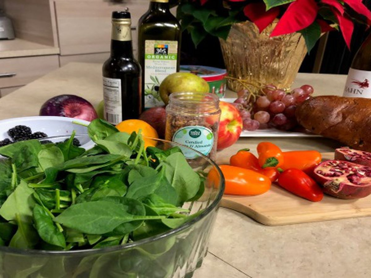 Let's make Pan Seared Duck Breast Salad with Chef Judi