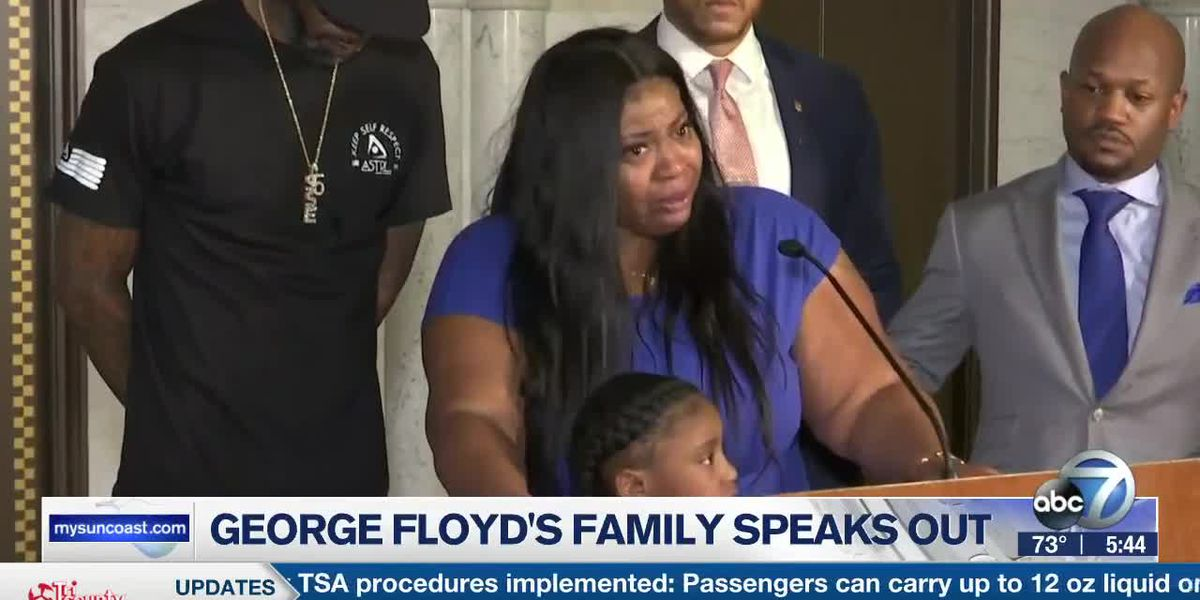 George Floyd's Family Speaks Out