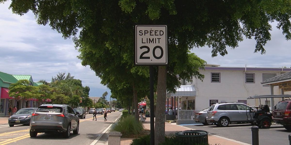 Lowering speed limit in Siesta Key Village being discussed