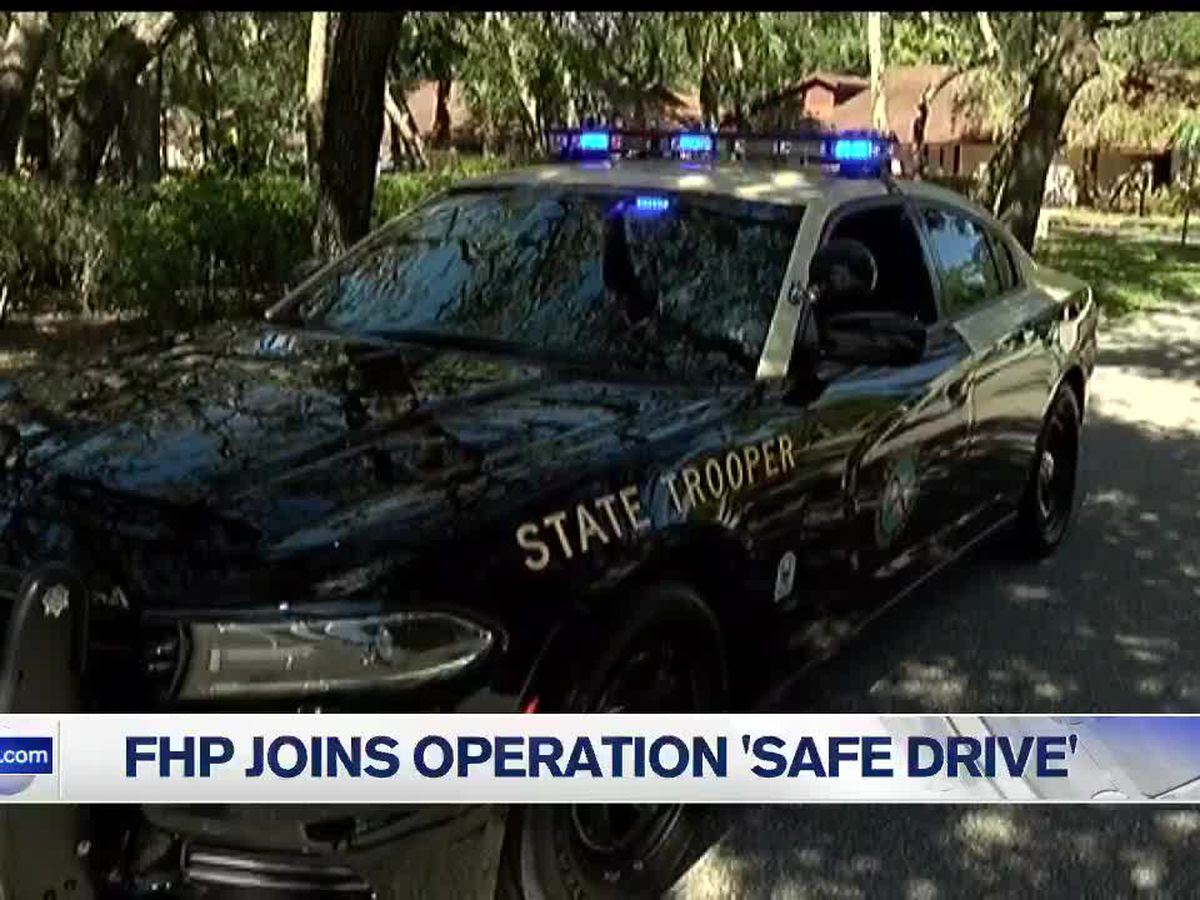 "FHP: More troopers on the road to stop aggressive drivers in operation ""Safe Drive"""