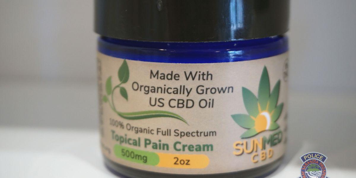 Sarasota Police warn the public of unlicensed retailers selling CBD oils