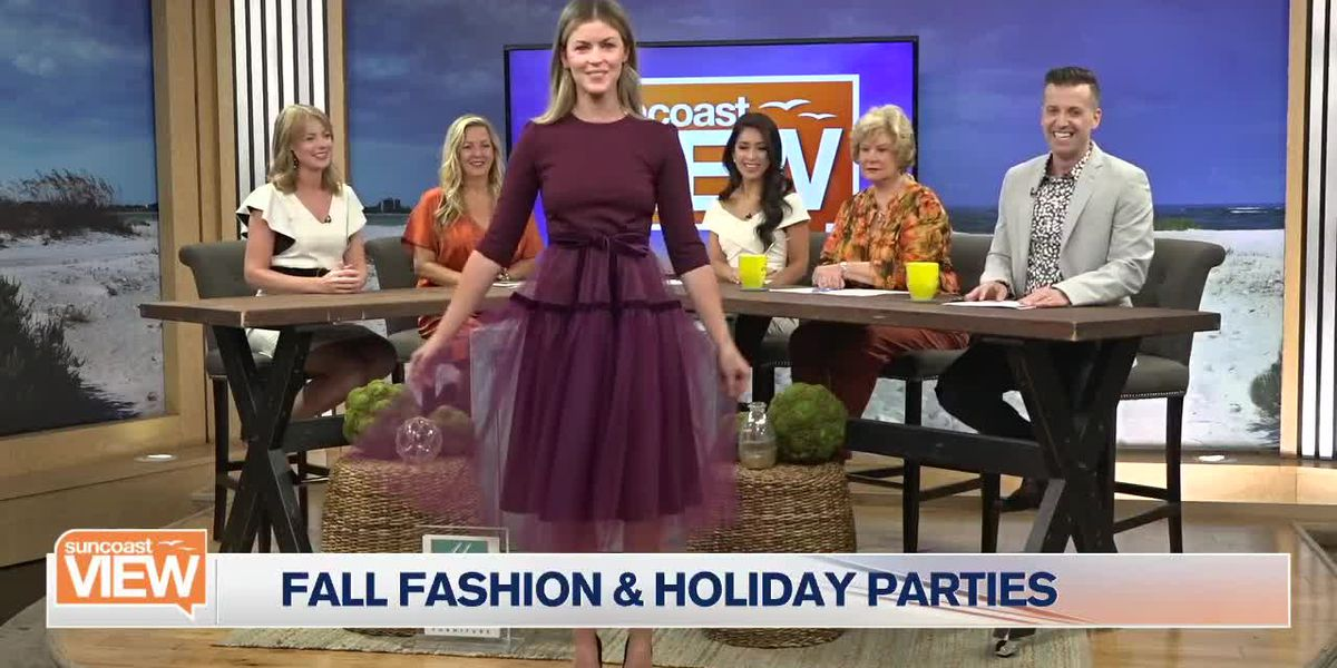 Camilyn Beth Brings Fashionable Looks for Fall & Holiday Parties | Suncoast View