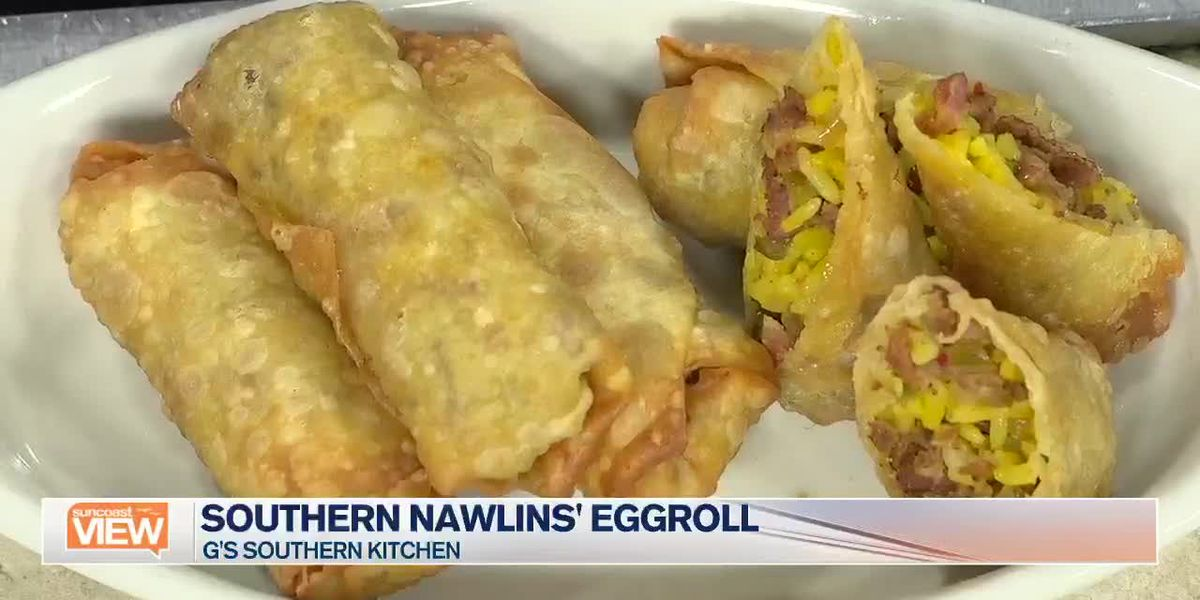 G's Southern Kitchen Makes Nawlins Eggrolls in Our Kitchen | Suncoast View