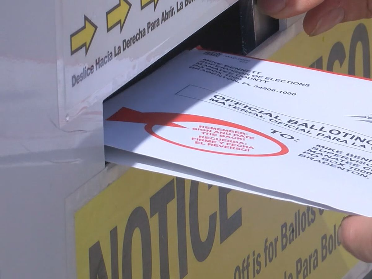 Voters urged to send out their vote-by-mail ballots