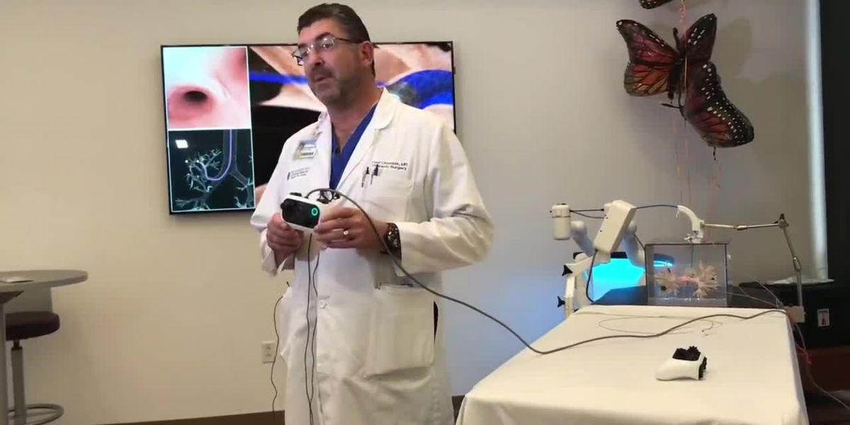 Sarasota Memorial Hospital unveils lung cancer robot