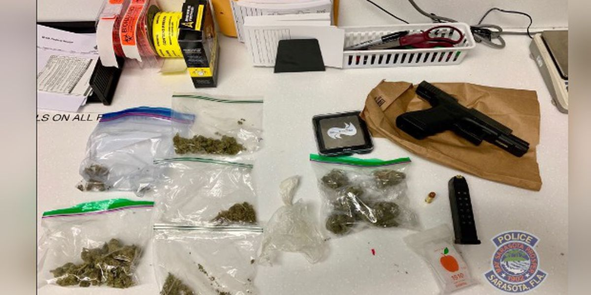 Traffic stop leads to arrests for firearm, ammunition and marijuana