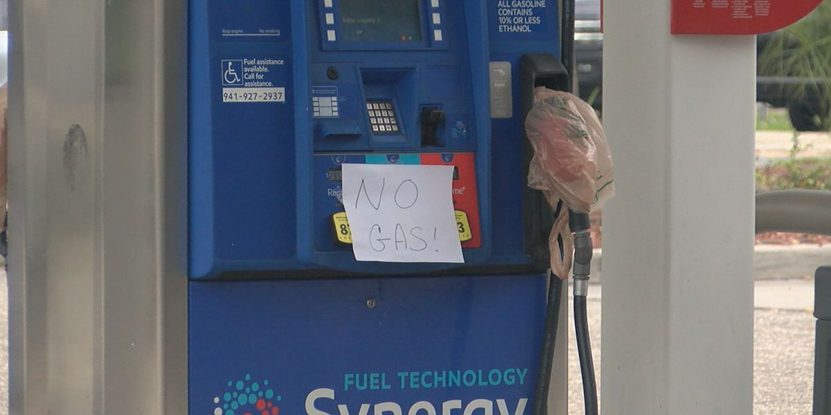 Suncoast residents react to lack of available fuel at local gas stations